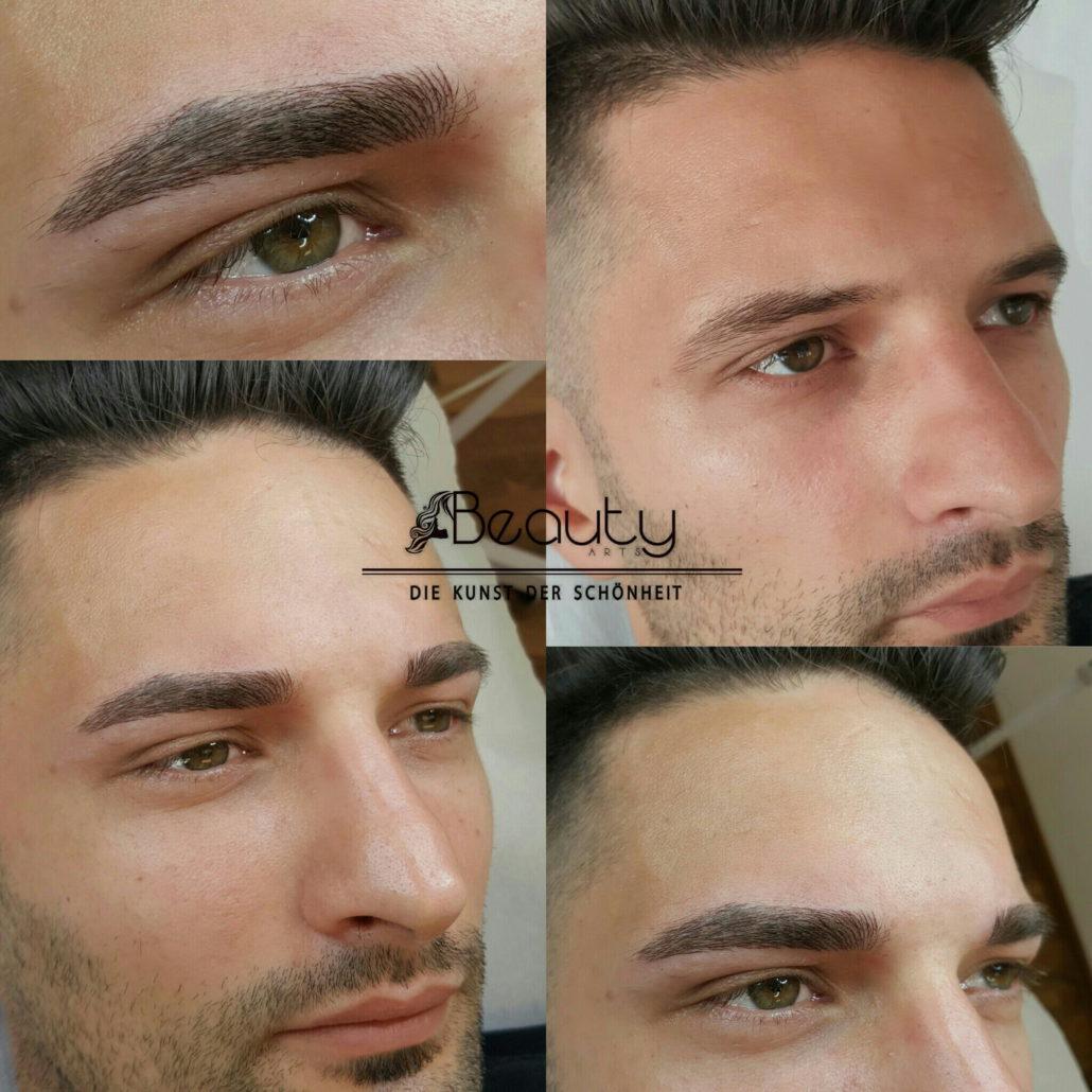 Männer up permanent make Permanent makeup